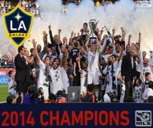 Puzzle de Los Angeles Galaxy, campeón de la MLS 2014