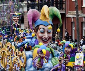 Puzzle de Los bufones, Carnaval