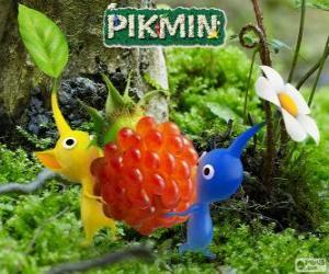 Puzzle de Los extraños seres Pikmin
