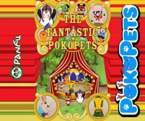 Puzzle de Los fantásticos Pokopets