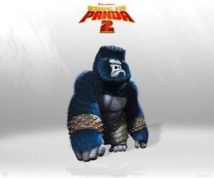 Puzzle de Los gorilas son el músculo en el ejército del Señor Shen
