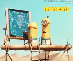 Puzzle de Los minions en Egipto