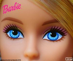Puzzle de Los ojos de Barbie