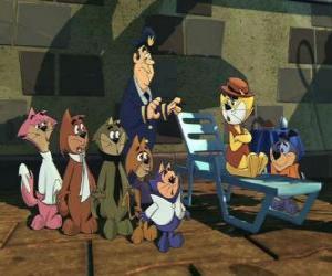Puzzle de Los protagonistas de la película Don Gato y su pandilla