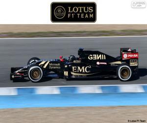 Puzzle de Lotus F1 Team 2015