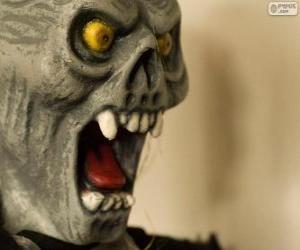 Puzzle de Máscara de Monstruo para Halloween