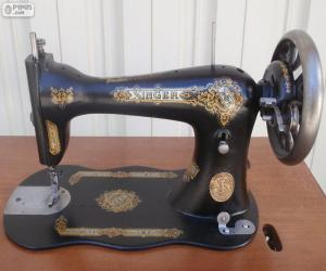 Puzzle de Máquina de coser antigua