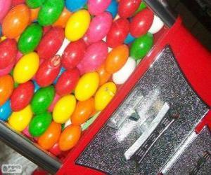 Puzzle de Máquina expendedora de chicles de bola