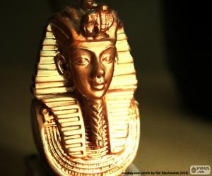 Puzzle de Máscara faraón Tutankamón