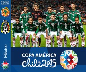 Puzzle de México Copa América 2015