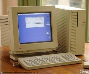 Puzzle de Macintosh Quadra (1991-94)
