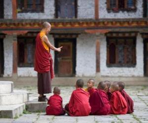 Puzzle de Maestro Budista