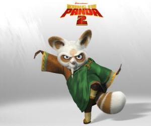 Puzzle de Maestro Shifu es el entrenador de todos los grandes guerreros de kung fu del país.