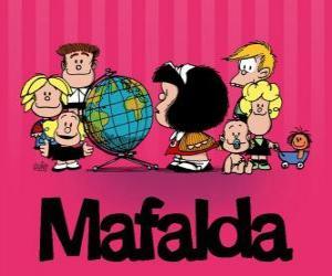 Puzzle de Mafalda y sus amigos