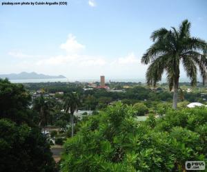 Puzzle de Managua, Nicaragua