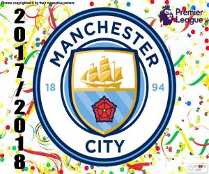 Puzzle de Manchester City, Premier League 17-18