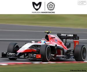 Puzzle de Manor Marussia 2015