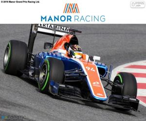 Puzzle de Manor Racing 2016