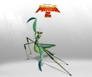 Puzzle de Mantis tiene un clarísimo complejo de Napoleón: fuerte, rápido y bajito, tiene mal carácter