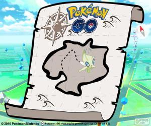 Puzzle de Mapa de Pokémon GO