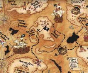 Puzzle de Mapa del tesoro