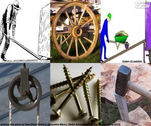 Puzzle de Maquinas simples