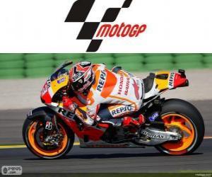 Puzzle de Marc Márquez, Campeón del Mundo 2013 de MotoGP