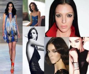 Puzzle de Mariacarla Boscono es una modelo italiana
