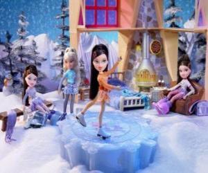 Puzzle de Maribel, es patinadora , le gusta la moda exentrica y con mucho glamour. Ella es Mexicana