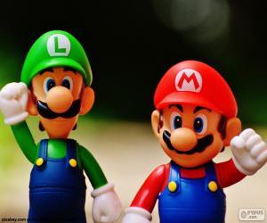 Puzzle de Mario y Luigi