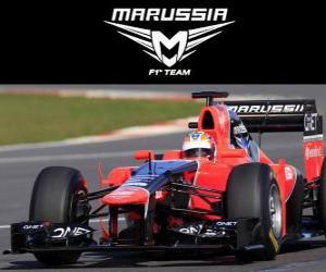 Puzzle de Marussia MR01 - 2012 -
