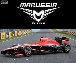 Puzzle de Marussia MR02 - 2013 -