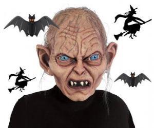 Puzzle de Mascara para Halloween