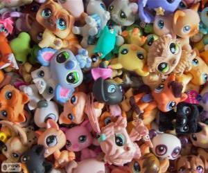 Puzzle de Mascotas de Littlest PetShop