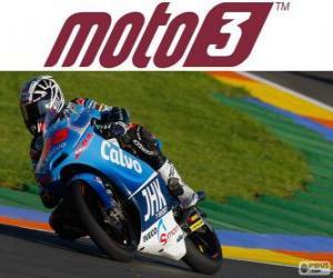 Puzzle de Maverick Viñales, Campeón del Mundo 2013 de Moto3