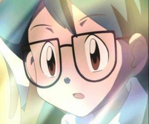 Puzzle de Max aparece como un compañero de Ash Ketchum, es además el hermano menor de May y se integró al grupo de Ash, May y el criador pokémon Brock.