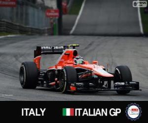 Puzzle de Max Chilton - Marussia - Monza, 2013