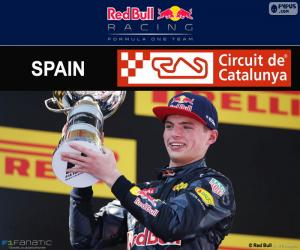 Puzzle de Max Verstappen, G.P España 2016