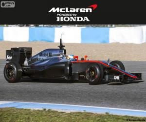 Puzzle de McLaren Honda 2015