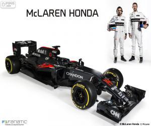Puzzle de McLaren Honda 2016