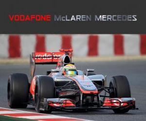 Puzzle de McLaren MP4-27 - 2012 -