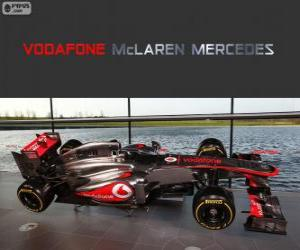 Puzzle de McLaren MP4-28 - 2013 -