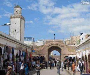 Puzzle de Medina de Essaouira, Marruecos