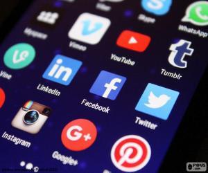 Puzzle de Medios sociales