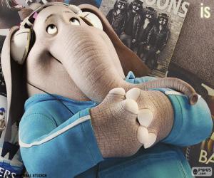 Puzzle de Meena la elefanta