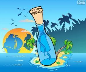 Puzzle de Mensaje en una botella