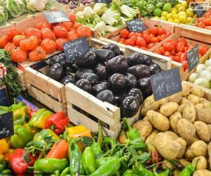 Puzzle de Mercado de verduras