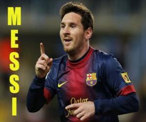 Puzzle de Messi