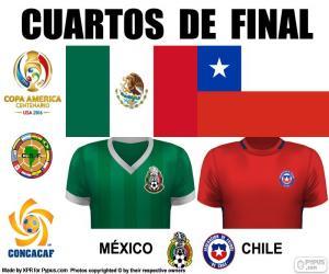 Puzzle de MEX - CHI, Copa América 16