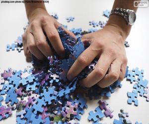 Puzzle de Mezclar las piezas del puzzle